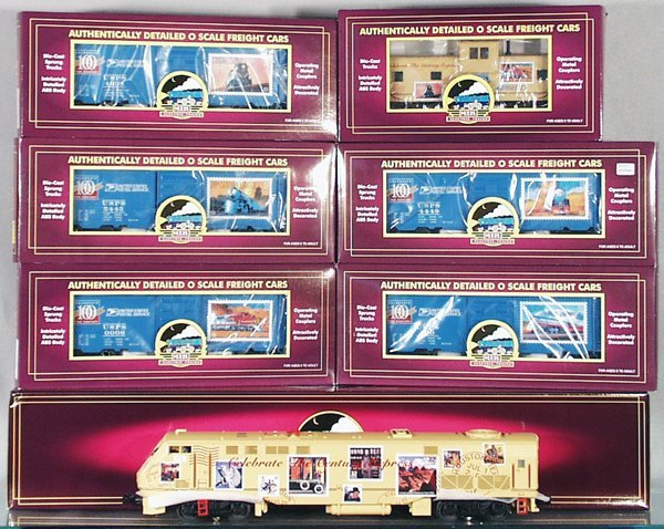 24: MTH US POSTAL SERVICE TRAIN SET