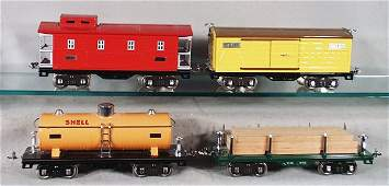 269 4 MTH LIONEL FREIGHT CARS