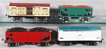 317 4 MTH LIONEL FREIGHT CARS