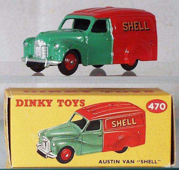 001A: DINKY 470 AUSTIN SHELL VAN