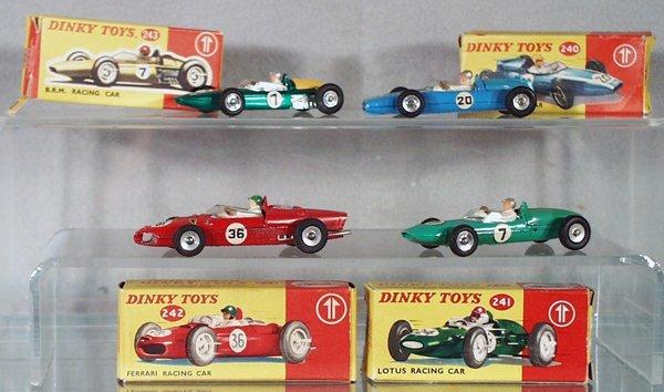 002A: 4 DINKY RACE CARS