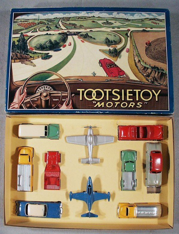 008A: TOOTSIETOY 7200 MOTORS SET
