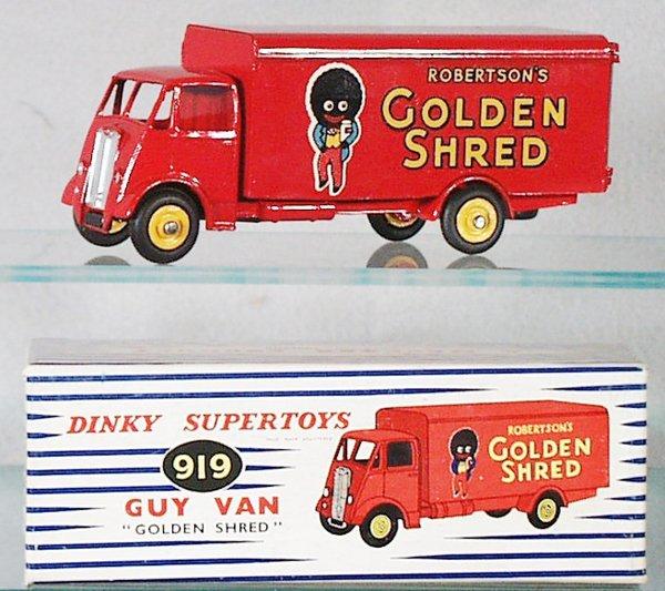 009A: DINKY 919 GOLDEN SHRED GUY VAN