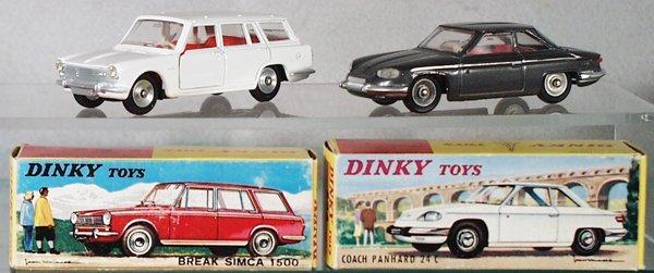 010A: 2 DINKY AUTOS