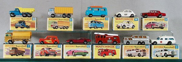 016A: 11 MATCHBOX SUPERFASTS
