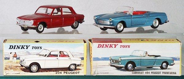 018A: 2 DINKY AUTOS