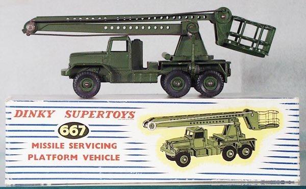 020A: DINKY 667 MISSILE SERVICING PLATFORM VEHICLE