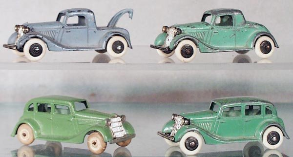 022A: 4 TOOTSIETOY FORDS