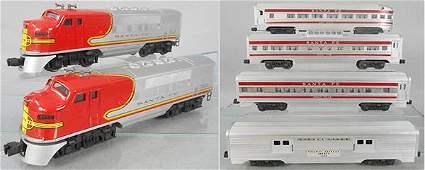 LIONEL 2544W SUPER CHIEF TRAIN SET