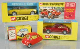 3 CORGI AUTOS