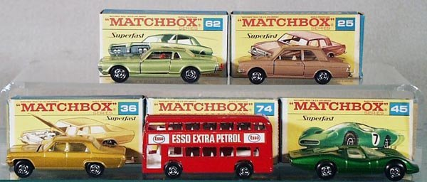 1: 5 MATCHBOX SUPERFASTS