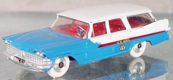 2: CORGI 443 59 PLYMOUTH US MAIL STATION WAGON