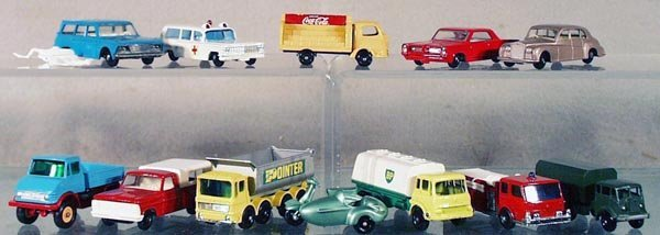 3: 12 MATCHBOX VEHICLES