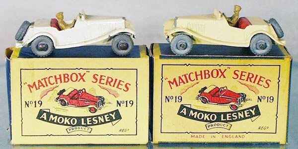 5: 2 MATCHBOX MG MOKOS