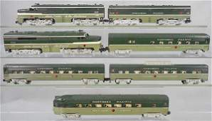 AMERICAN FLYER NORTHERN PACIFIC TRAIN SET