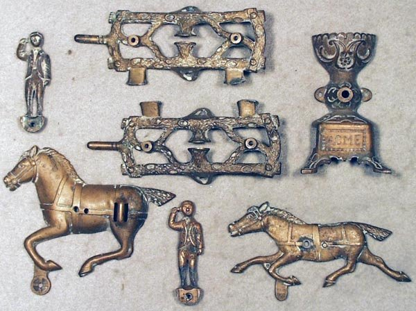 17: NN HILL BELL TOY BRONZE PATTERN PARTS