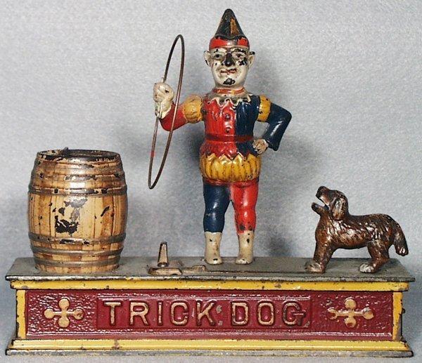50: SHEPARD HARDWARE TRICK DOG BANK