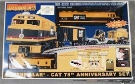 025 MTH RAIL KING CATERPILLAR SET