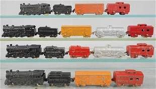 4 TOOTSIETOY 186 FAST FREIGHT SETS