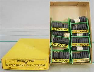 DINKY 786 TRADE BOX OF TYRE RACKS