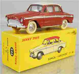 FRENCH DINKY 544 SIMCA ARONDE