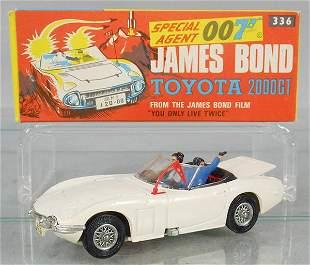 CORGI 336 JAMES BOND TOYOTA 2000