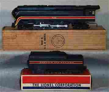 1113: LIONEL 746 N&W LOCO & 746WX TENDER