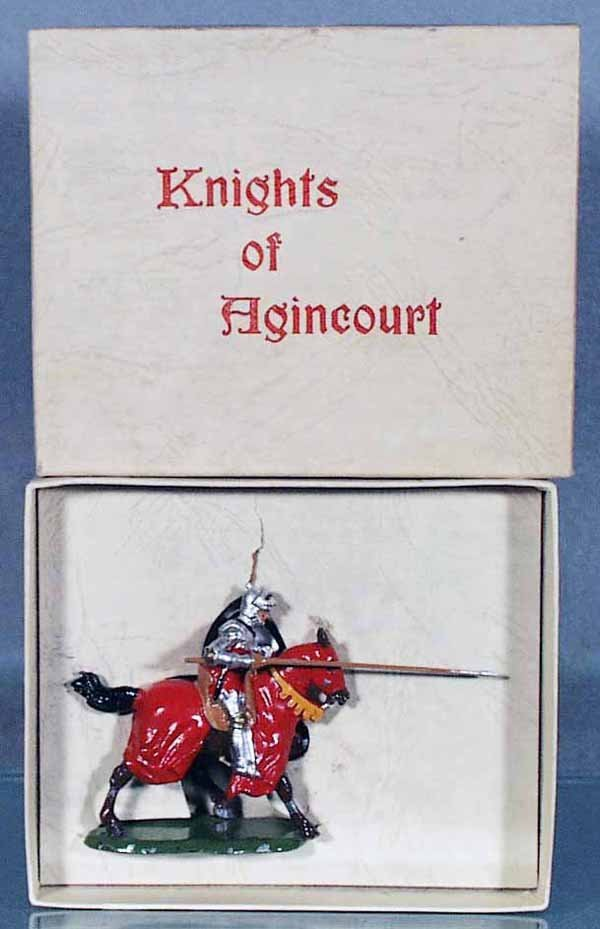 21: BRITAINS 9494 KNIGHT OF AGINCOURT