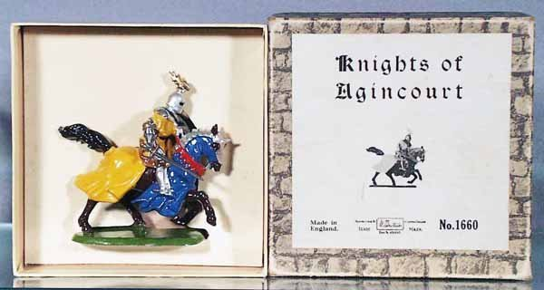24: BRITAINS 1660 KNIGHT OF AGINCOURT