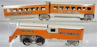 AMERICAN FLYER 960 MINNEHAHA TRAIN SET