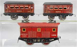 AMERICAN FLYER 1102 TRAIN SET