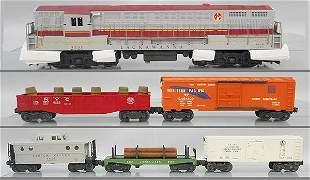 LIONEL 2223W BIG HAUL TRAIN SET