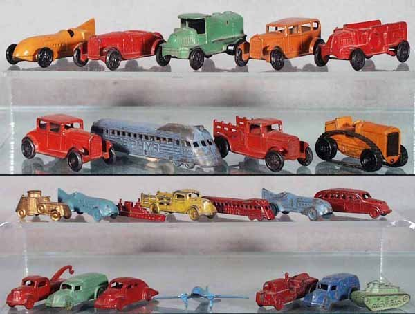 3: 25 TOOTSIETOY VEHICLES