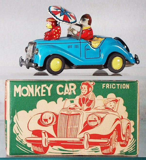 10: MARUSAN MGTF MONKEY CAR