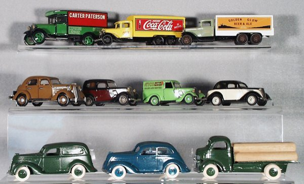 15: 10 DIE CAST FORD VEHICLES