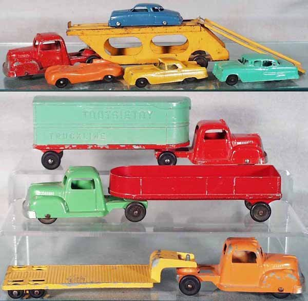 21: TOOTSIETOY VEHICLE LOT