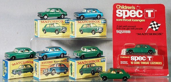 247: 7 MATCHBOX AUTOS