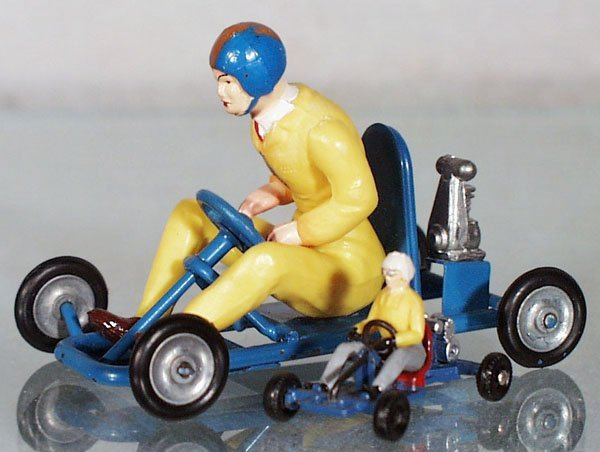 12: 2 TOY GO-CARTS