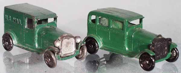 15: 2 TOOTSIETOY MODEL A FORDS