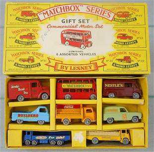 MATCHBOX G1 COMMERCIAL MOTOR GIFT SET