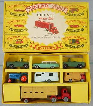 MATCHBOX 64 FARM SET GIFT SET