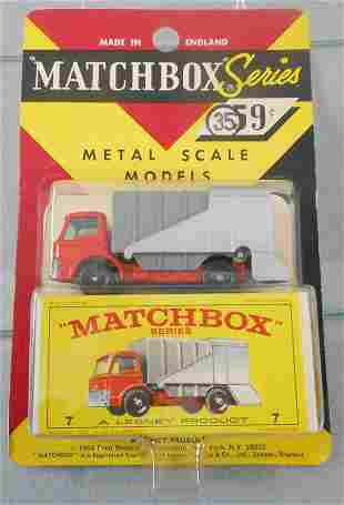 MATCHBOX 7C1 FORD REFUSE TRUCK BLISTER PACK