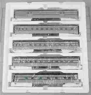 MTH 20-6554 NYC 5-CAR TRAIN SET