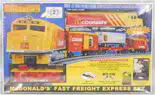 MTH 30-4042-1 McDONALDS TRAIN SET