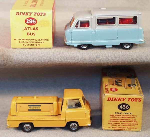 001: 2 DINKY VEHICLES