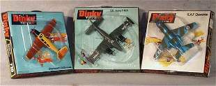 002: 3 DINKY AIRPLANES