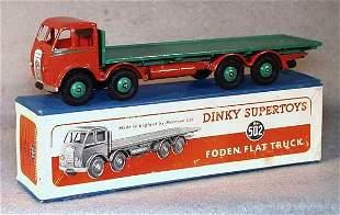 004: DINKY 502 FODEN FLAT TRUCK