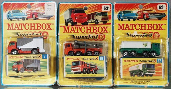 21: 3 MATCHBOX VEHICLES