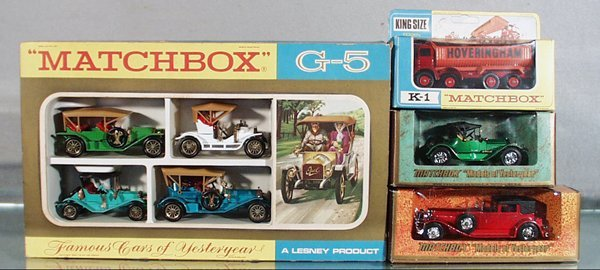 23: MATCHBOX VEHICLE LOT