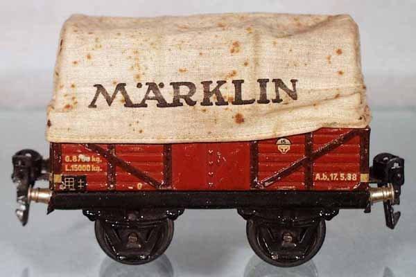 10: MARKLIN 16630 COVERED GOODSWAGON